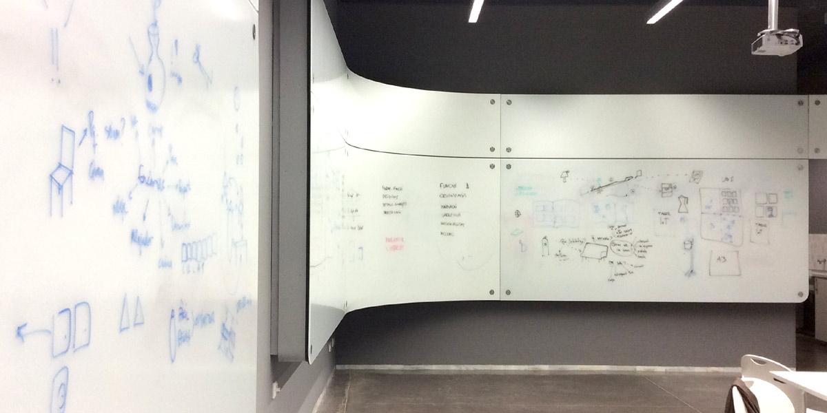 Guim Espelt i Marc Ligos - Museu del Disseny de Barcelona - Tallers didàctics - Sessions de treball
