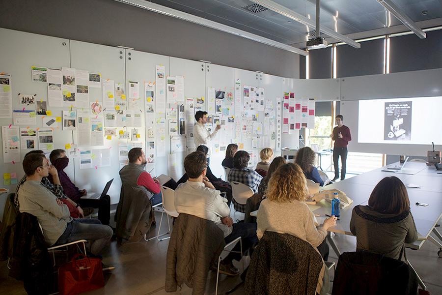 Guim Espelt i Marc Ligos - Museu del Disseny de Barcelona - Tallers didàctics - Jornada Creativitat i Tendències