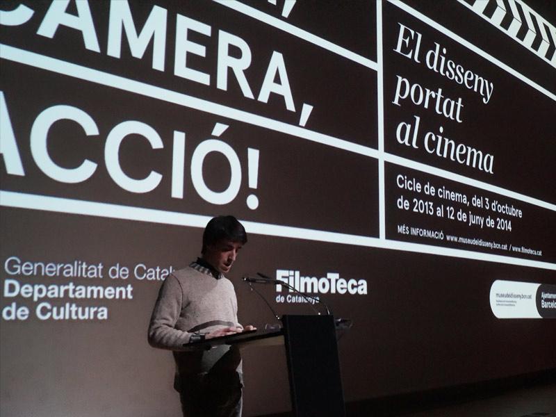 Disseny, càmera, acció - Museu del Disseny - Guim Espelt - presentació