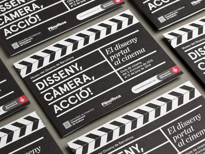 Disseny, càmera, acció - Museu del Disseny - triptic losiento
